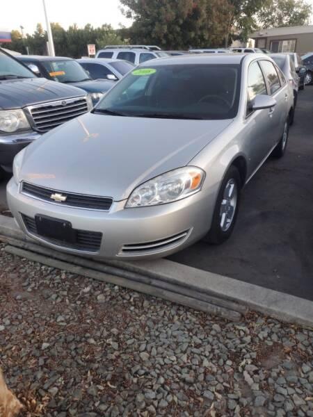 2008 Chevrolet Impala for sale at Thomas Auto Sales in Manteca CA
