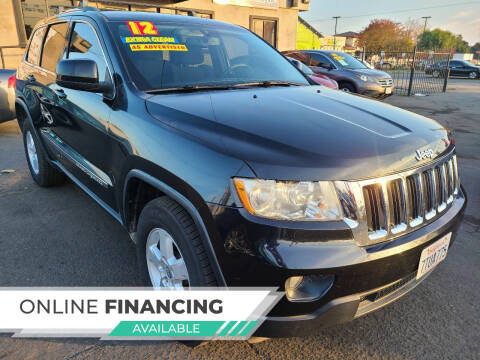 2012 Jeep Grand Cherokee for sale at Super Cars Sales Inc #1 - Super Auto Sales Inc #2 in Modesto CA
