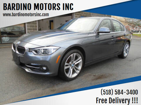 2017 BMW 3 Series for sale at BARDINO MOTORS INC in Saratoga Springs NY