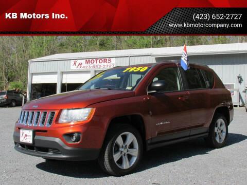 2012 Jeep Compass for sale at KB Motors Inc. in Bristol VA