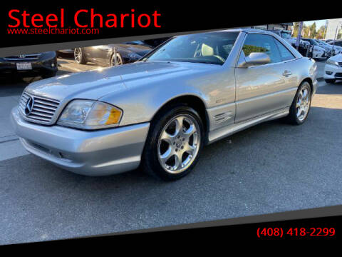 2002 Mercedes-Benz SL-Class for sale at Steel Chariot in San Jose CA