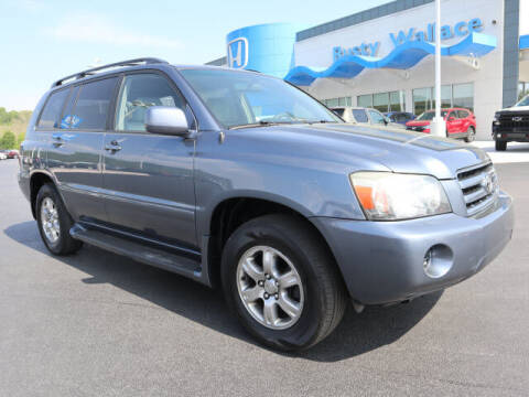 2005 Toyota Highlander for sale at RUSTY WALLACE HONDA in Knoxville TN