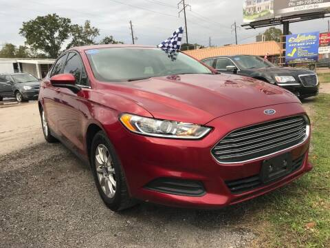 2016 Ford Fusion for sale at Palmer Auto Sales in Rosenberg TX