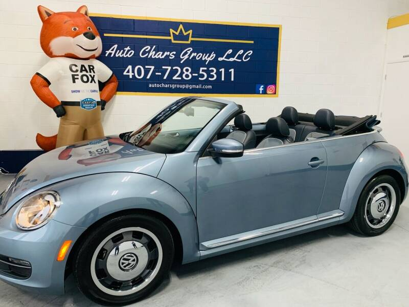 2016 Volkswagen Beetle Convertible for sale at Auto Chars Group LLC in Orlando FL