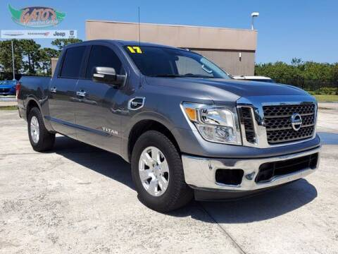 2017 Nissan Titan for sale at GATOR'S IMPORT SUPERSTORE in Melbourne FL