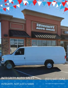 2008 Ford E-Series Cargo for sale at INTEGRITY AUTO SALES in Clarksville TN