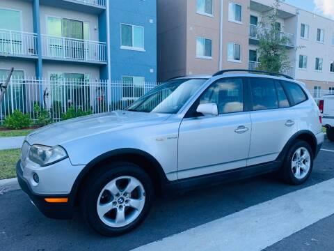 2008 BMW X3 for sale at LA Motors Miami in Miami FL