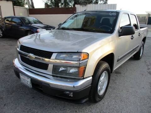 2008 Chevrolet Colorado for sale at F & A Car Sales Inc in Ontario CA