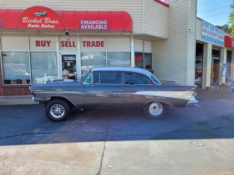 1957 Chevrolet 210 for sale at Bickel Bros Auto Sales, Inc in Louisville KY