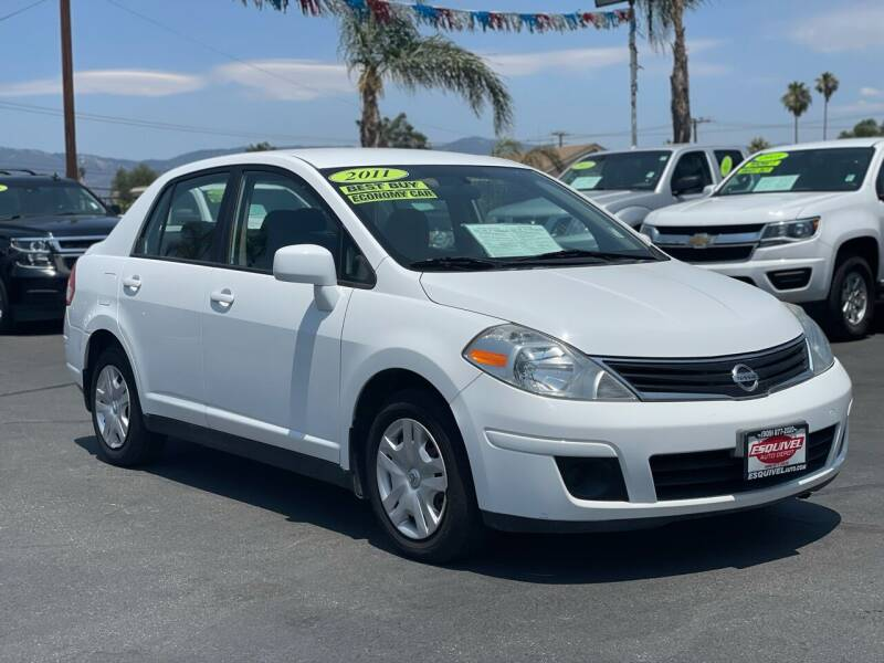 2011 Nissan Versa for sale at Esquivel Auto Depot in Rialto CA