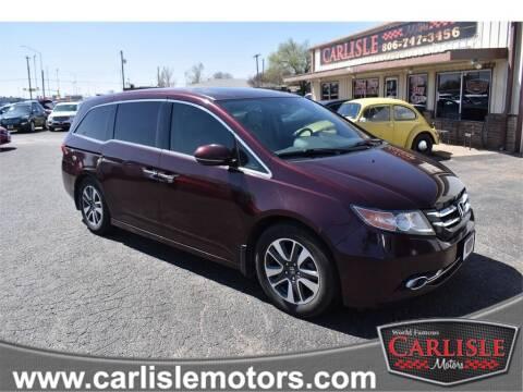 2014 Honda Odyssey for sale at Carlisle Motors in Lubbock TX