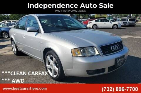 2003 Audi A6 for sale at Independence Auto Sale in Bordentown NJ