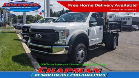 2021 Ford F-450 Super Duty for sale at CHAPMAN FORD NORTHEAST PHILADELPHIA in Philadelphia PA