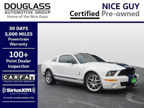 2008 Ford Shelby GT500 for sale at Douglass Automotive Group - Douglas Volkswagen in Bryan TX