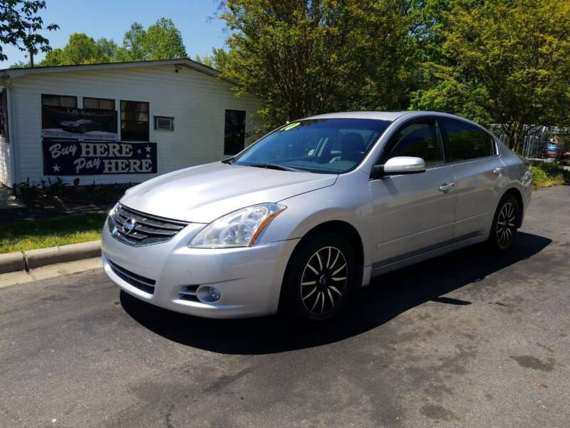 2010 Nissan Altima for sale at TR MOTORS in Gastonia NC