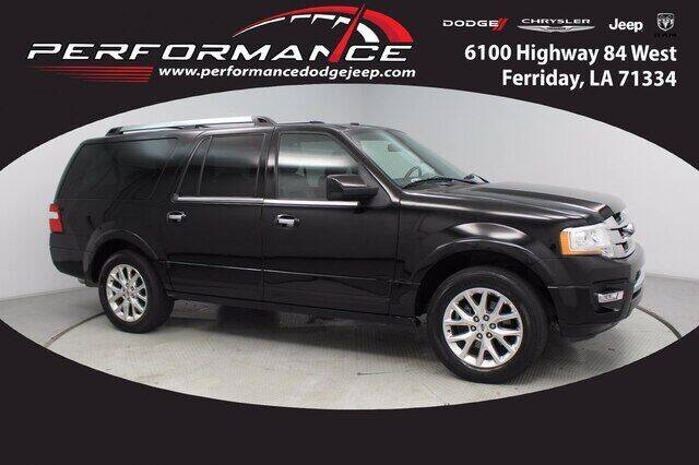 2016 Ford Expedition EL for sale at Performance Dodge Chrysler Jeep in Ferriday LA