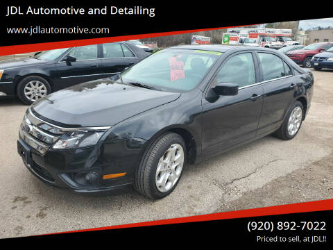 2011 Ford Fusion for sale at JDL Automotive and Detailing in Plymouth WI