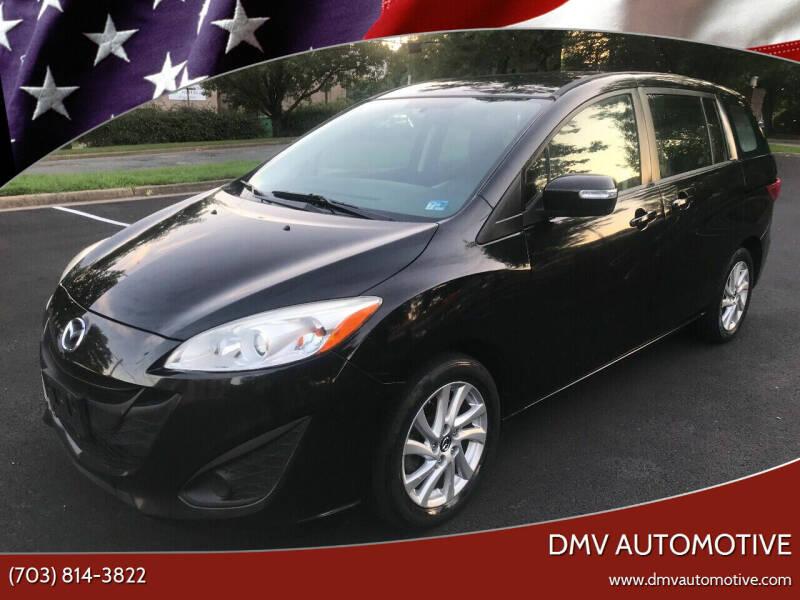 2013 Mazda MAZDA5 for sale at DMV Automotive in Falls Church VA