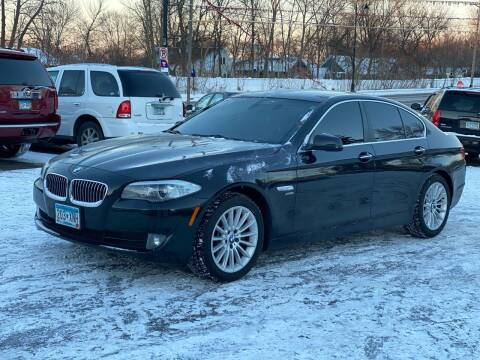 2012 BMW 5 Series for sale at Tonka Auto & Truck in Mound MN