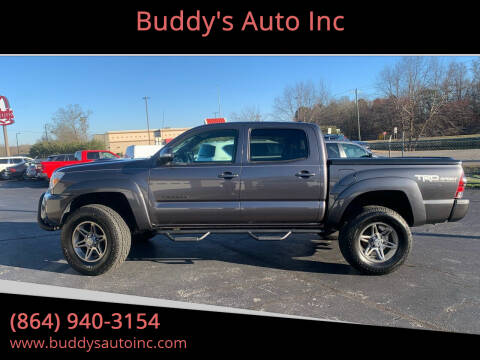 2015 Toyota Tacoma for sale at Buddy's Auto Inc in Pendleton, SC