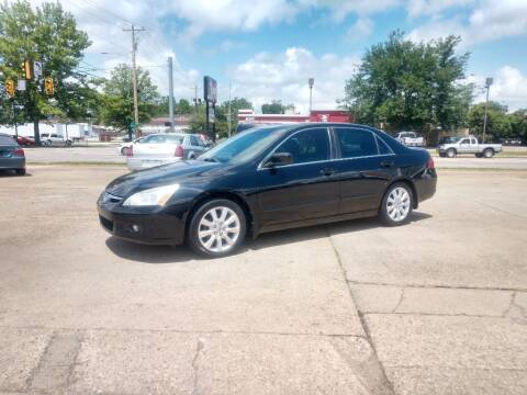 2007 Honda Accord for sale at Wolfe Brothers Auto in Marietta OH