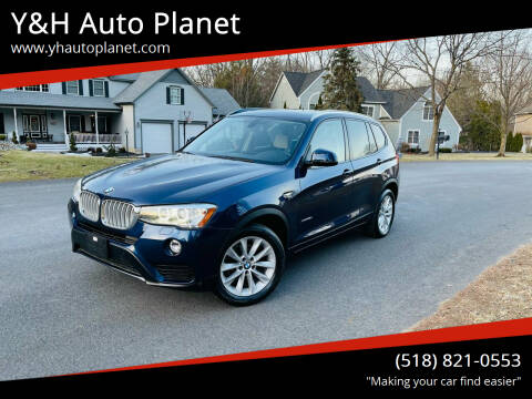 2015 BMW X3 for sale at Y&H Auto Planet in West Sand Lake NY