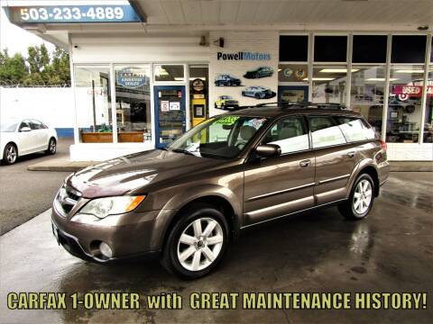 2008 Subaru Outback for sale at Powell Motors Inc in Portland OR