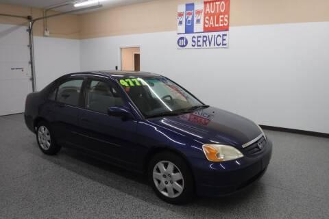 2002 Honda Civic for sale at 777 Auto Sales and Service in Tacoma WA
