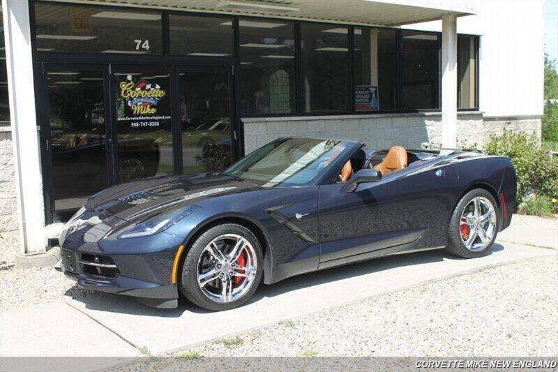 2016 Chevrolet Corvette for sale at Corvette Mike New England in Carver MA