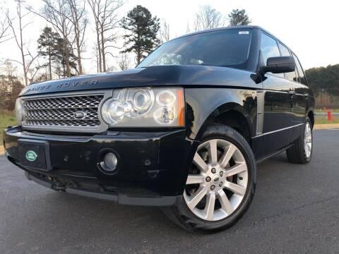 2008 Land Rover Range Rover for sale at El Camino Auto Sales in Sugar Hill GA