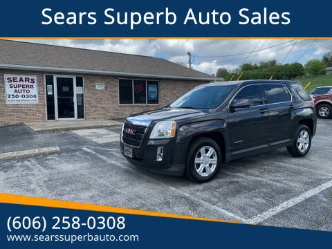 2015 GMC Terrain for sale at Sears Superb Auto Sales in Corbin KY