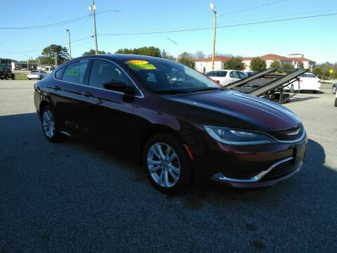 2015 Chrysler 200 for sale at Kelly & Kelly Supermarket of Cars in Fayetteville NC