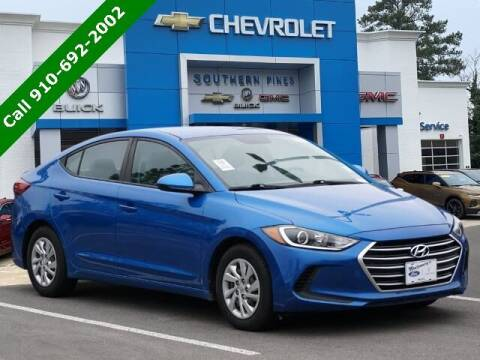 2017 Hyundai Elantra for sale at PHIL SMITH AUTOMOTIVE GROUP - SOUTHERN PINES GM in Southern Pines NC