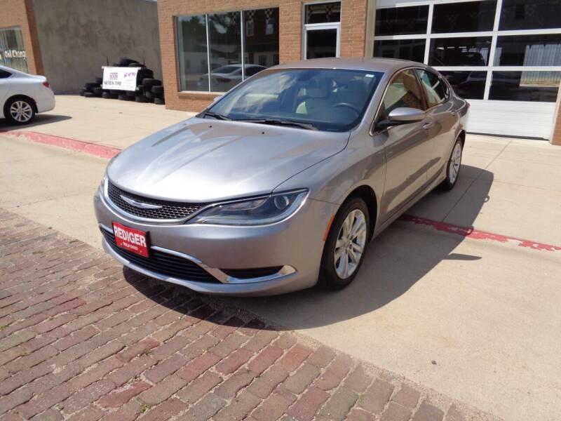 2016 Chrysler 200 for sale at Rediger Automotive in Milford NE