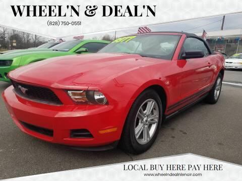 2010 Ford Mustang for sale at Wheel'n & Deal'n in Lenoir NC