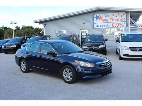 2011 Honda Accord for sale at My Value Car Sales - Upcoming Cars in Venice FL