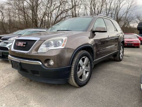 2009 GMC Acadia for sale at D & M Auto Sales & Repairs INC in Kerhonkson NY