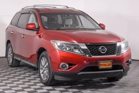 2013 Nissan Pathfinder for sale at Washington Auto Credit in Puyallup WA