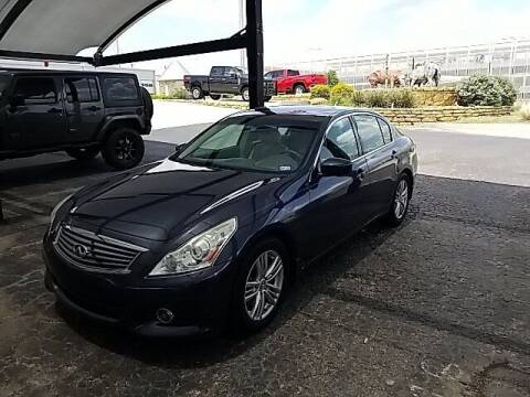 2012 Infiniti G37 Sedan for sale at Jerry's Buick GMC in Weatherford TX