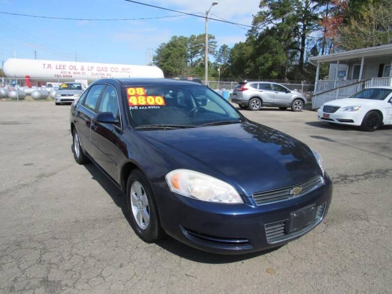 2008 Chevrolet Impala for sale at Auto Bella Inc. in Clayton NC