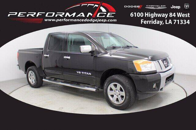 2013 Nissan Titan for sale at Performance Dodge Chrysler Jeep in Ferriday LA