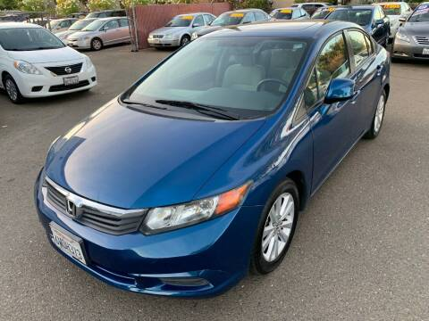 2012 Honda Civic for sale at C. H. Auto Sales in Citrus Heights CA