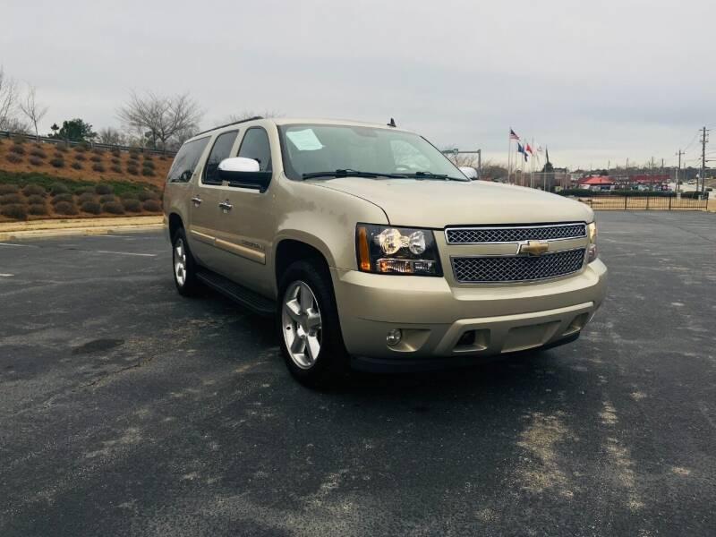 2008 Chevrolet Suburban for sale at Garcia Trucks Auto Sales Inc. in Austell GA
