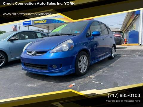 2008 Honda Fit for sale at Credit Connection Auto Sales Inc. YORK in York PA