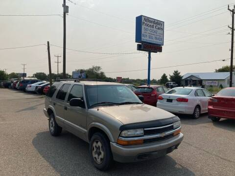 2002 Chevrolet Blazer for sale at AFFORDABLY PRICED CARS LLC in Mountain Home ID