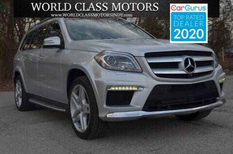2015 Mercedes-Benz GL-Class for sale at World Class Motors LLC in Noblesville IN