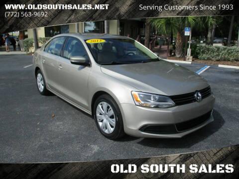 2013 Volkswagen Jetta for sale at OLD SOUTH SALES in Vero Beach FL