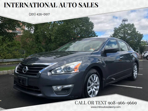 2013 Nissan Altima for sale at International Auto Sales in Hasbrouck Heights NJ