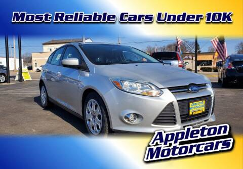 2012 Ford Focus for sale at Appleton Motorcars Sales & Service in Appleton WI