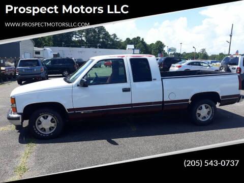 1997 Chevrolet C/K 1500 Series for sale at Prospect Motors LLC in Adamsville AL